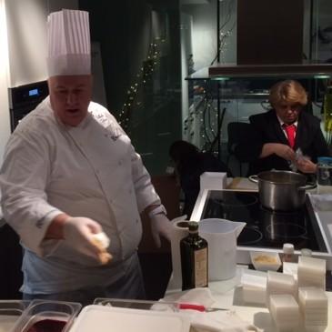 Moretti Show Cooking con Raffaele Soldati