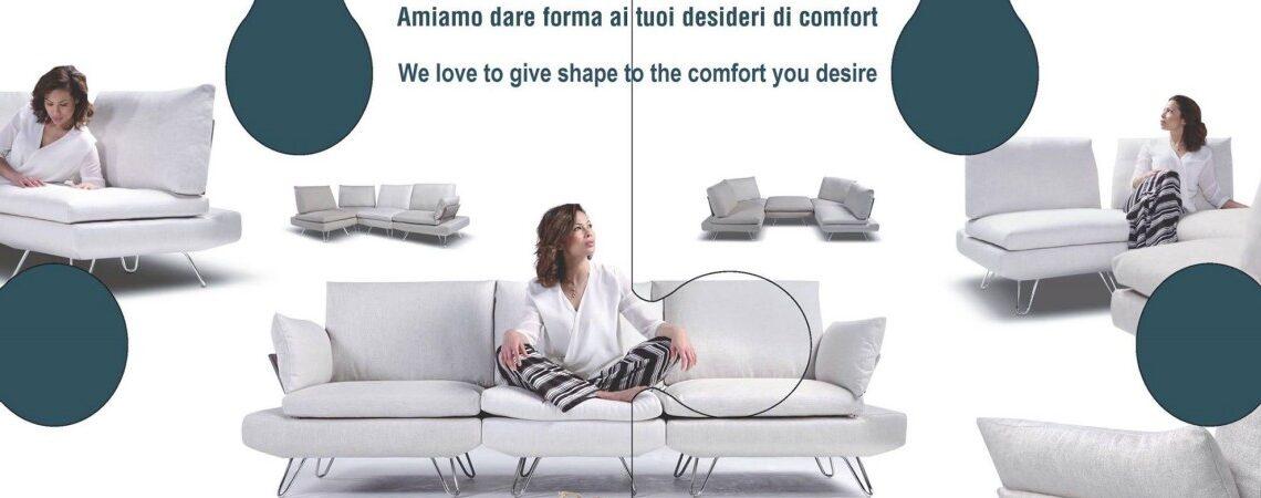 Campagna promozionale con sconto 35% sui divani Nicoletti Home