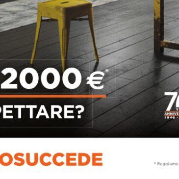 Snaidero – Bonus 2000 euro: perché aspettare?