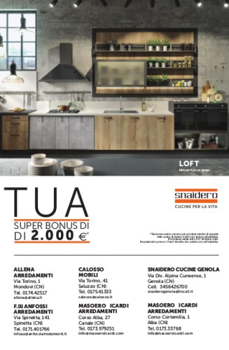 """Loft - Pubblicità su """"La Stampa"""" - Cuneo"""