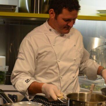 Atmosfere Show Cooking con Gianluca Giromini